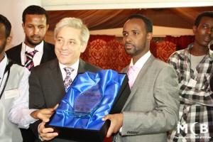 2011 - Speaker John Becrow, Beacon Awards